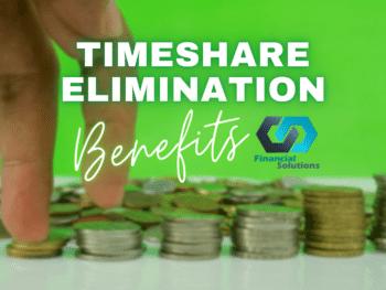 Timeshare Elimination Benefits
